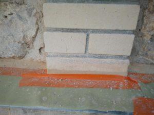 Restauration des briques - après restauration