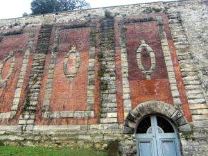 Mur des Lions avant de la restauration de MPR