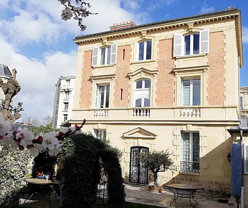 Restauration d'une villa à Saint-germain-en-laye