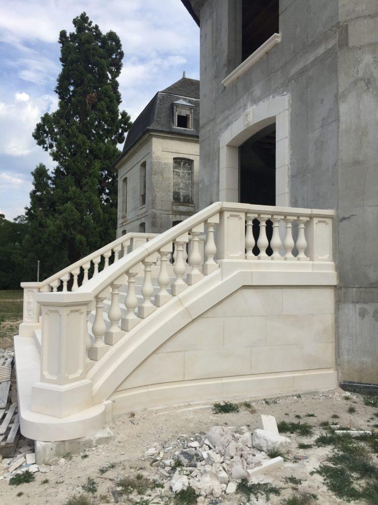 Maçonnerie - Escalier monumental par MPR