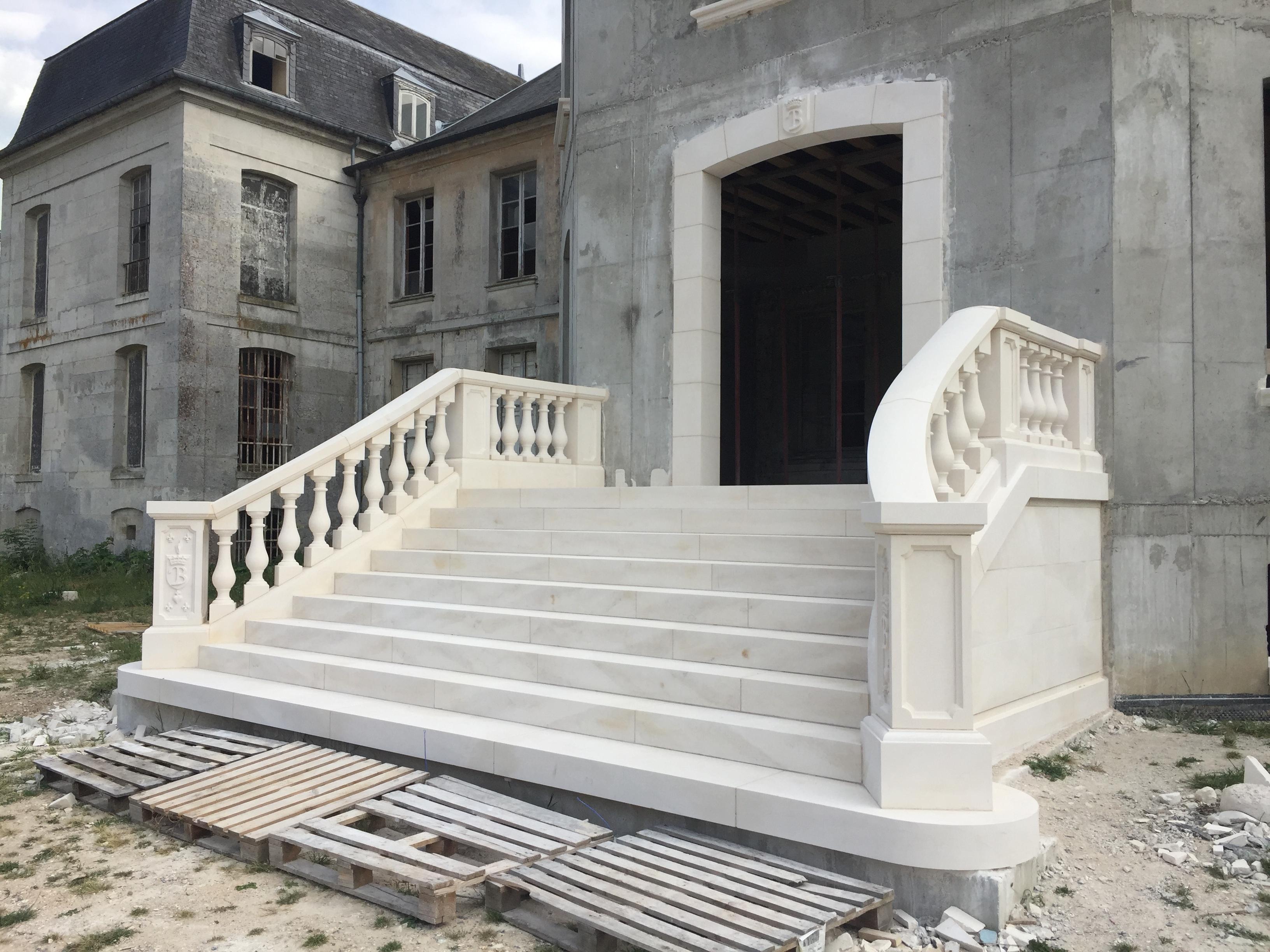 Escalier monumental par MPR
