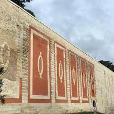 PR restauration du Mur des Lions