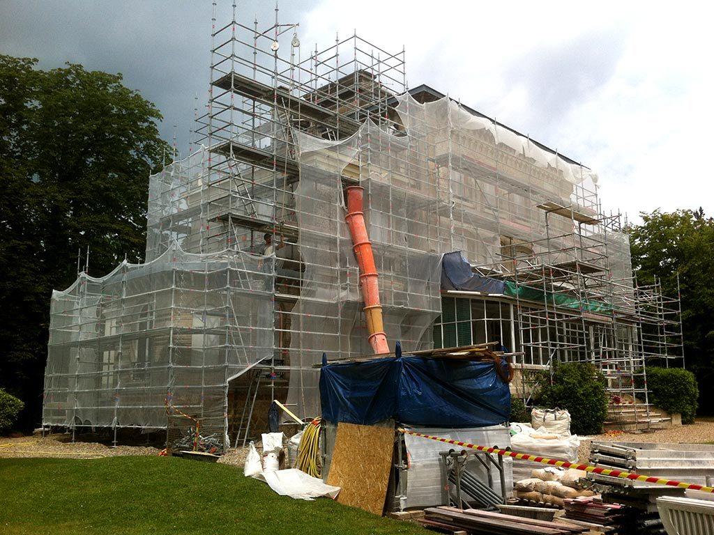 Restauration d'une maison au Vésinet