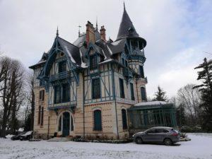 Restauration propriété historique à Fourqueux