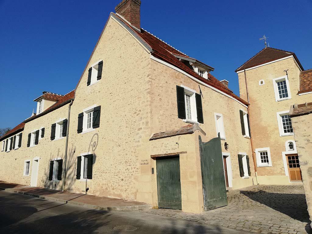 Restauration et maçonnerie réalisée par MPR à L'Étang-la-Ville - façade
