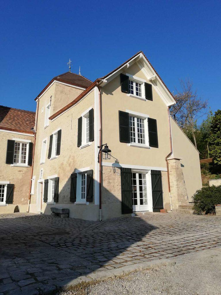 Restauration et maçonnerie réalisée par MPR à L'Étang-la-Ville