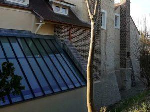 Ravalement réalisée par MPR à L'Étang-la-Ville - façade et vitres