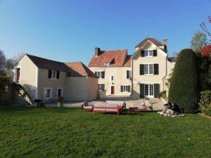 Restauration et maçonnerie réalisée par MPR à L'Étang-la-Ville - jardin